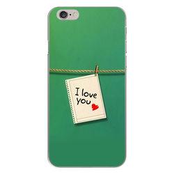 Capa para Celular - I Love You