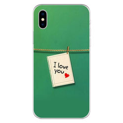 Capa para Celular - I Love You