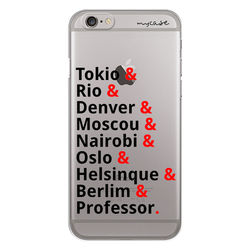 Capa para celular - La Casa de Papel | Nomes