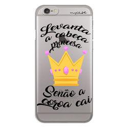 Capa para celular - Levanta a Cabeça Princesa