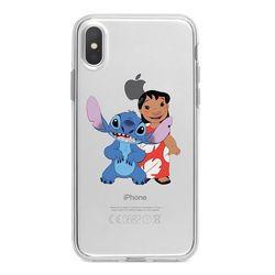Capa para celular - Lilo e Stitch