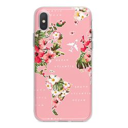 Capa para celular - Mapa Floral
