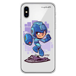 Capa para celular - Mega Man