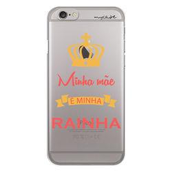 Capa para celular - Minha Mãe é Minha Rainha