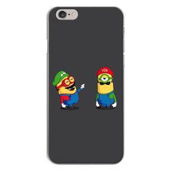 Capa para Celular - Minions Mario e Luigi