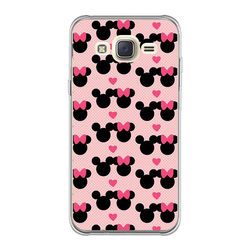 Capa para Celular - Minnie e Mickey | Love