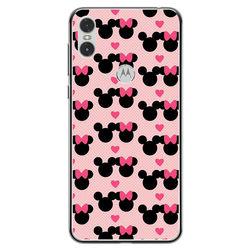 Capa para Celular - Minnie e Mickey | Love