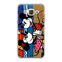 Capa para Celular - Minnie e Mickey | Romero Britto