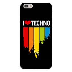 Capa para Celular - Música | I Love Techno