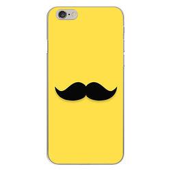 Capa para Celular - Mustache | Amarelo