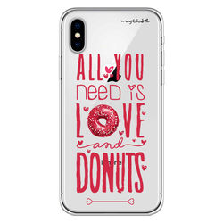 Capa para Celular - All you need is love and donuts