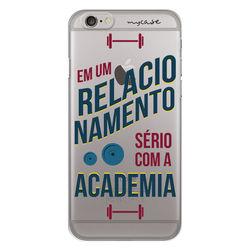 Capa para Celular - Em um relacionamento serio com a academia.