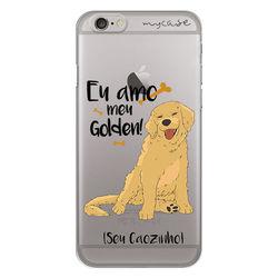 Capa para Celular - Eu amo meu Golden