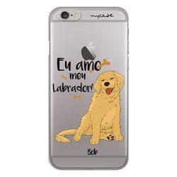 Capa para Celular - Eu amo meu Labrador