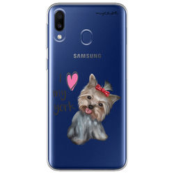 "Capa para Celular - I love my York "" nome do seu animal """
