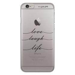 Capa para Celular - Love, Laugh, Life