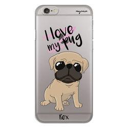 Capa para Celular - Love my pug