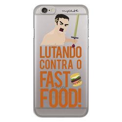 Capa para Celular - Lutando contra o fast food