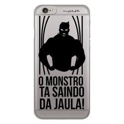 Capa para Celular - O monstro ta saindo da jaula.