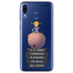 Capa para Celular - O Pequeno Príncipe Tu te tornas etermente responsável