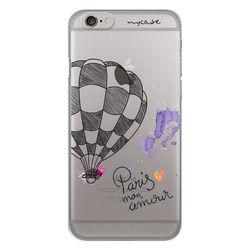 Capa para Celular - Paris Mon Amour Balão