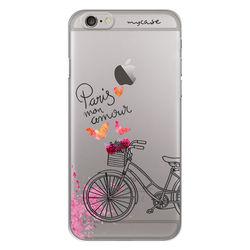 Capa para Celular - Paris Mon Amour Bicicleta