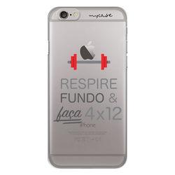 Capa para Celular - Respire Fundo e Faça 4x12