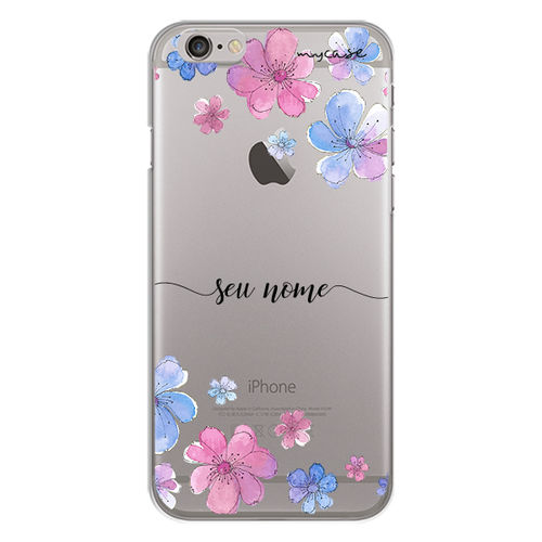 Imagem de Capa para celular - Flores | Com Nome Manuscrito