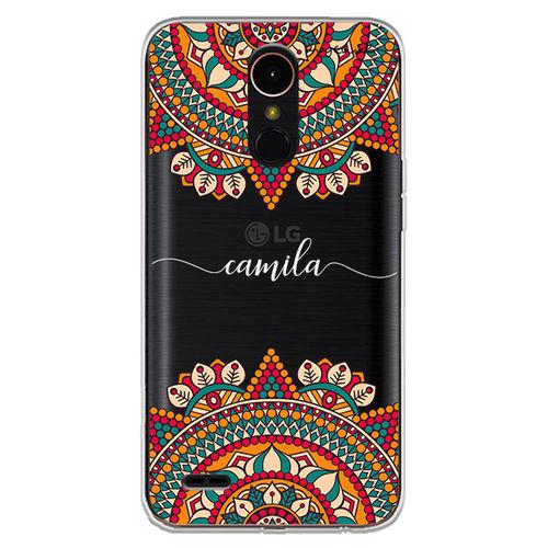 Capa para celular - Mandala | Com Nome Manuscrito
