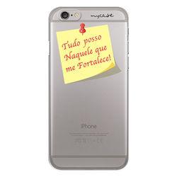 Capa para Celular - Tudo posso Naquele que me Fortalece! [Post It]