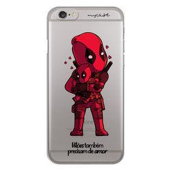 Capa para Celular - Vilões Precisam de Amor | DeadPool