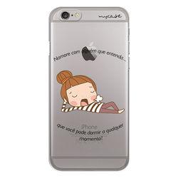 Capa para celular - Namore com alguém que entenda...