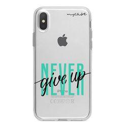 Capa para celular - Never Give Up