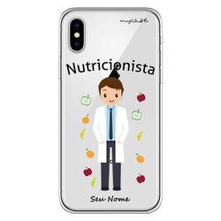 Capa para celular - Nutricionista - Homem