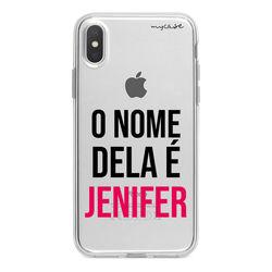 Capa para celular - O Nome Dela é... | Com Seu Nome