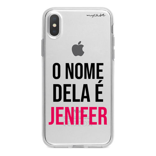 Imagem de Capa para celular - O Nome Dela é... | Com Seu Nome