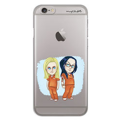 Capa para celular - Orange is the New Black | Piper e Alex