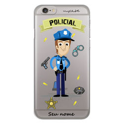 Capa para Celular - Policial | Homem