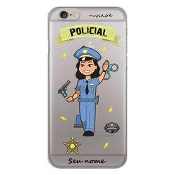 Capa para Celular - Policial | Mulher