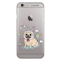 Capa para celular - Pug Vestido de Unicórnio