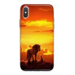 Capa para celular - Rei Leão | Simba e Mufasa