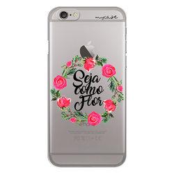 Capa para celular - Seja Como Flor
