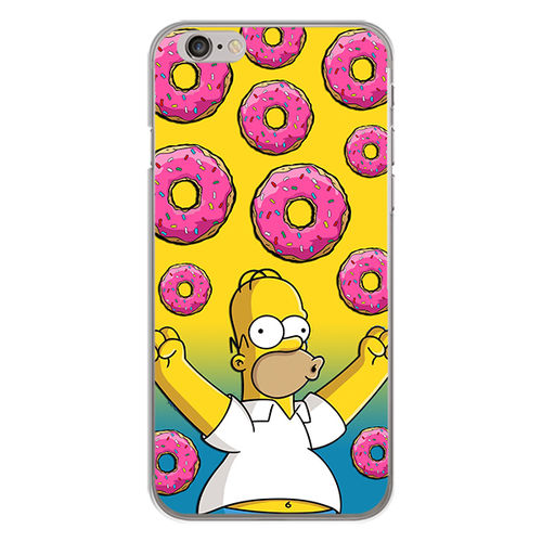 Imagem de Capa para celular - Simpson | Homer e Donuts
