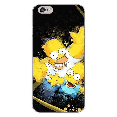 Imagem de Capa para Celular - Simpsons | Homer e Bart