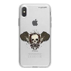 Capa para celular - Skull and Guns