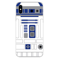 Capa para celular - Star Wars   R2D2 Flat
