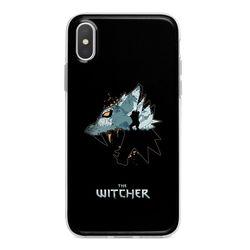 Capa para celular - The Witcher   Lobo Branco