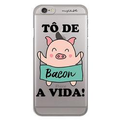 Capa para celular - Tô de Bacon a vida