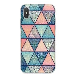 Capa para celular - Triângulos | Mandala