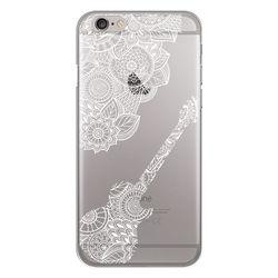 Capa para Celular - Violão mosaico para iPhone 6 e 6s | Branco